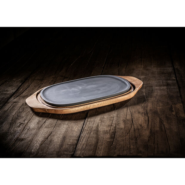 BBQ Passion Hot/Cool Plate 12.5x8 in, , large