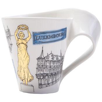 Cities of the World mug à café Luxembourg