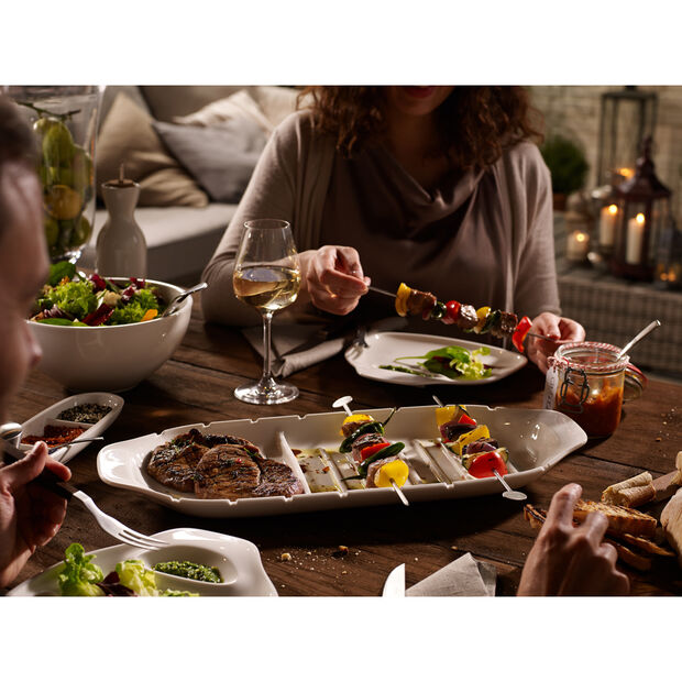 BBQ Passion XL Kebab Platter 20.5x8.5in, , large