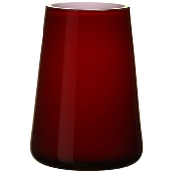 Numa Mini Vase : Deep Cherry 4.75 in