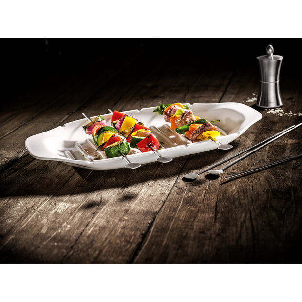 BBQ Passion Kebab Platter 16.5x8.5in, , large