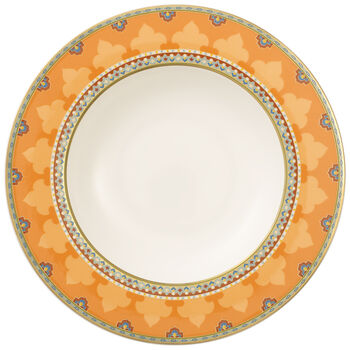 Samarkand Mandarin Rim Soup 9 1/2 in