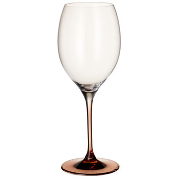 Manufacture Glass Bordeaux Goblet : Set of 2 10 in