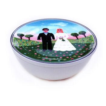 Design Naif Wedding Trinket Box 4 1/4 in