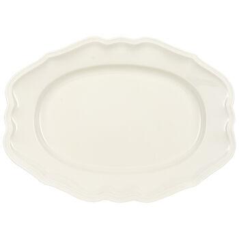 Manoir plat ovale 37cm