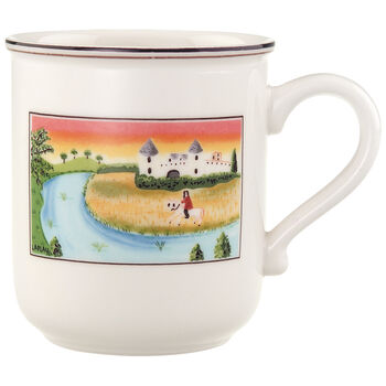 Design Naif Mug #2 - Man On Horse 10 oz