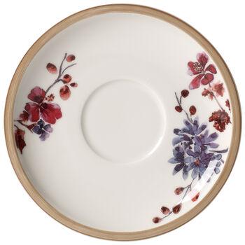 Artesano Provencal Lavender Tea Cup Saucer 6.25 in