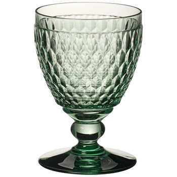 Boston coloured goblet gr.set of 4 USA