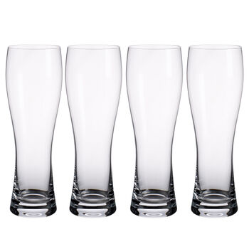 Purismo Pilsner Beer Glasses, Set of 4