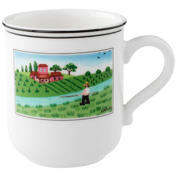 Design Naif Mug #4 - Fisherman 10 oz