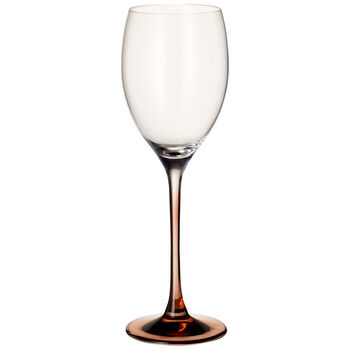 Manufacture Glass White Wine : Set of 2 9.5 in