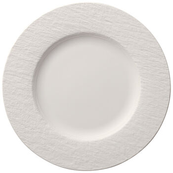 Manufacture Rock Blanc Dinner Plate 10.5 in