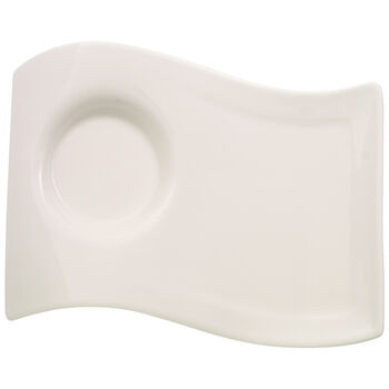 New Wave Caffé Large Party Plate 8 1/2 x 6 1/2 in