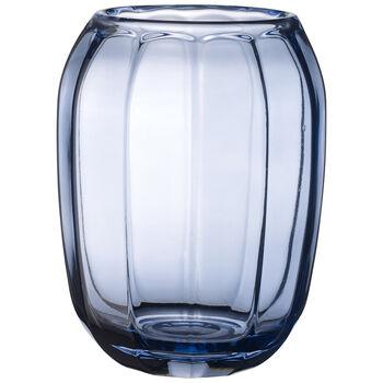 Coloured DeLight Hurricane Lamp/Large Vase : Winter Sky 7 in