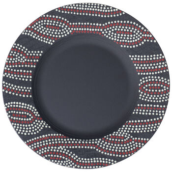 Manufacture Rock Desert Art Salad Plate 8.5 in