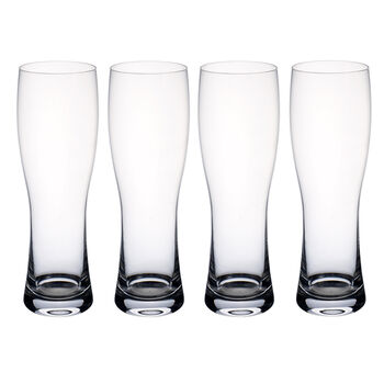 Purismo Beer Verre à bière blanche Set of 4 243mm