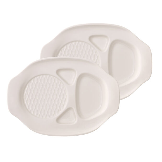BBQ Passion Burger Plate : Set of 2, , large