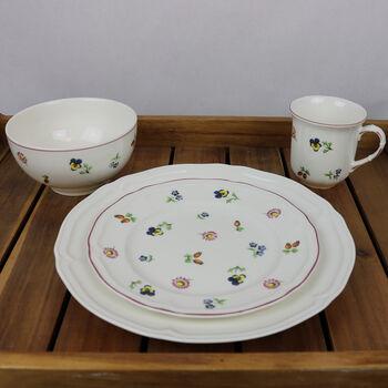 Petite Fleur - Service de vaisselle Manoir pour 4 personnes