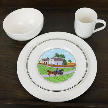 For Me - Service de vaisselle Design Naif