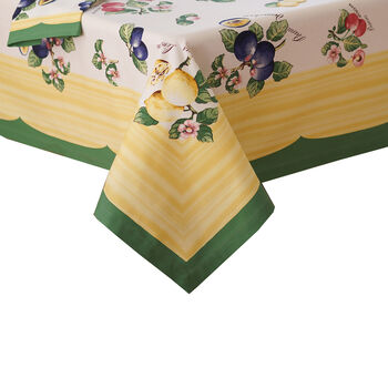 """French Garden Oblong Tablecloth, 68x126"""""""