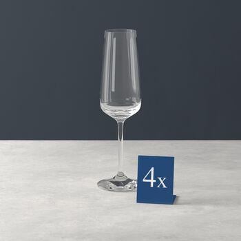 Ovid Champagne Flute, Set of 4