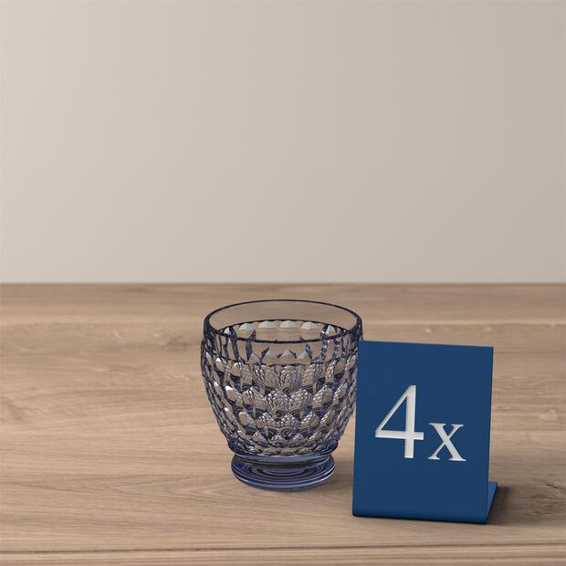 Boston Colored Shot Glass: Blue, Set of 4, , large