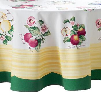"French Garden Round Tablecloth, 70"""