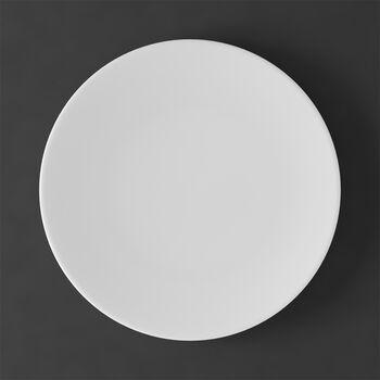 MetroChic Blanc Dinner Plate