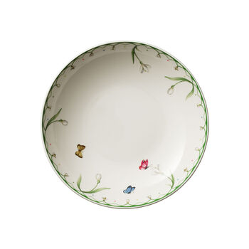 Colourful Spring Flat Bowl