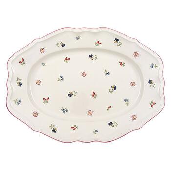 Petite Fleur Oval Platter, Large