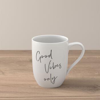 Statement Mug: Good Vibes Only