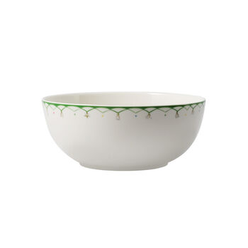 Colourful Spring Round Vegetable Bowl, Small