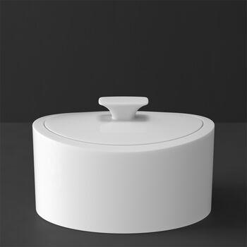 MetroChic Blanc Gifts Porcelain Box