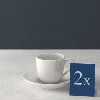 For Me Espresso Cup & Saucer, Set of 2