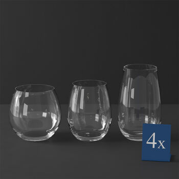 Entree 12 Piece Stemless Wine Set
