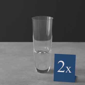 American Bar Straight Bourbon Shot Glass, Set of 2