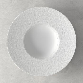 Manufacture Rock Blanc Pasta Plate