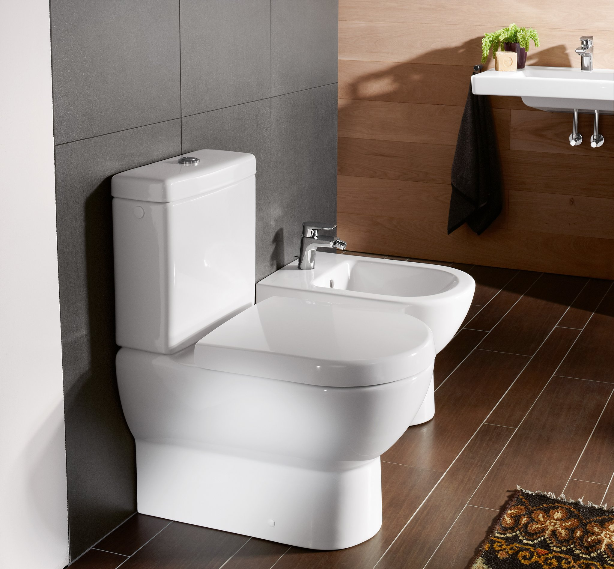 Subway Washdown Toilet For Close Coupled Wc Suite Oval